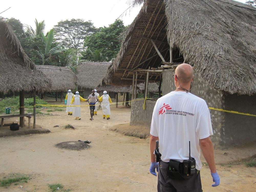 Um passo a mais para conter o Ebola